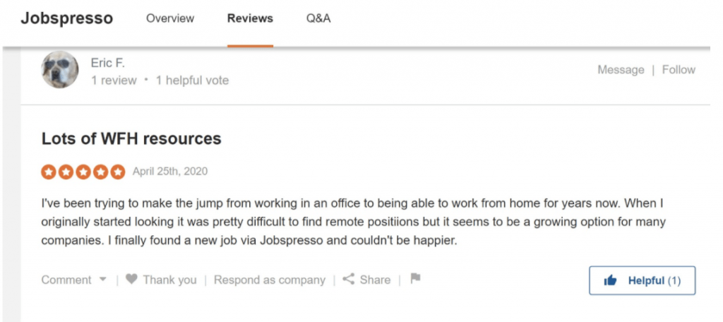 Jobspresso Review