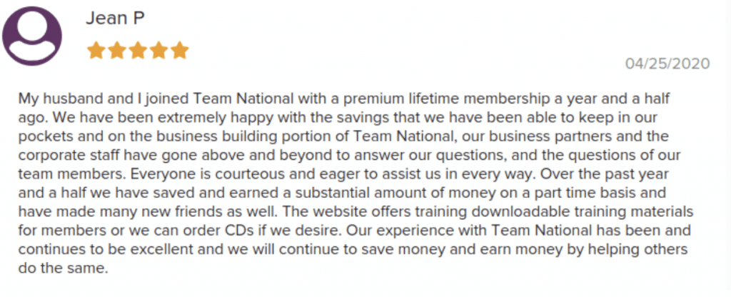 Team National Social Proof 2