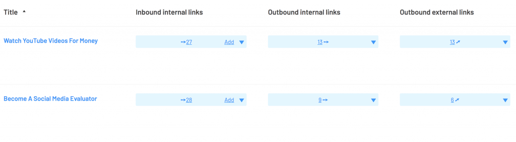 link whisper internal links report