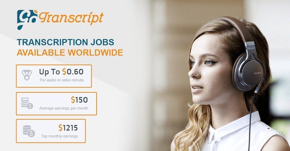 gotranscript transcription jobs stats
