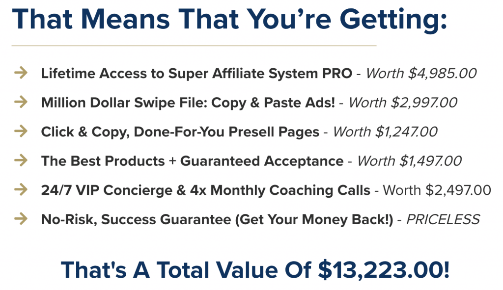 Super Affiliate System Features & Benefits