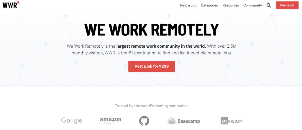 We Work Remotely Review